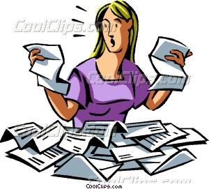 Paperwork clipart free clip freeuse library Collection of Overwhelmed clipart   Free download best Overwhelmed ... clip freeuse library