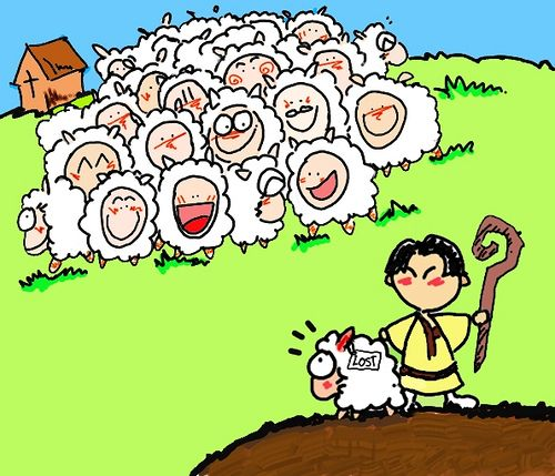 Parable of the lost sheep clipart png freeuse stock The Parable of the Lost Sheep - Clip Art Library png freeuse stock