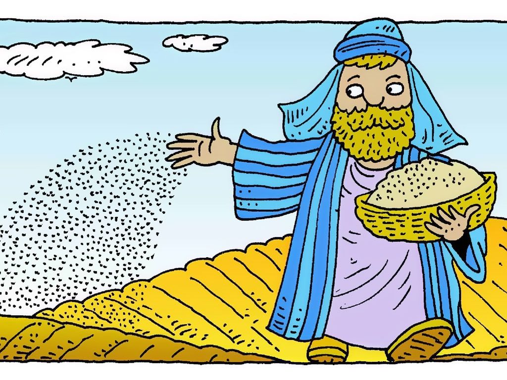 Parable of the sower clipart image royalty free stock FreeBibleimages :: The Farmer and the Seed (Parable of the ... image royalty free stock