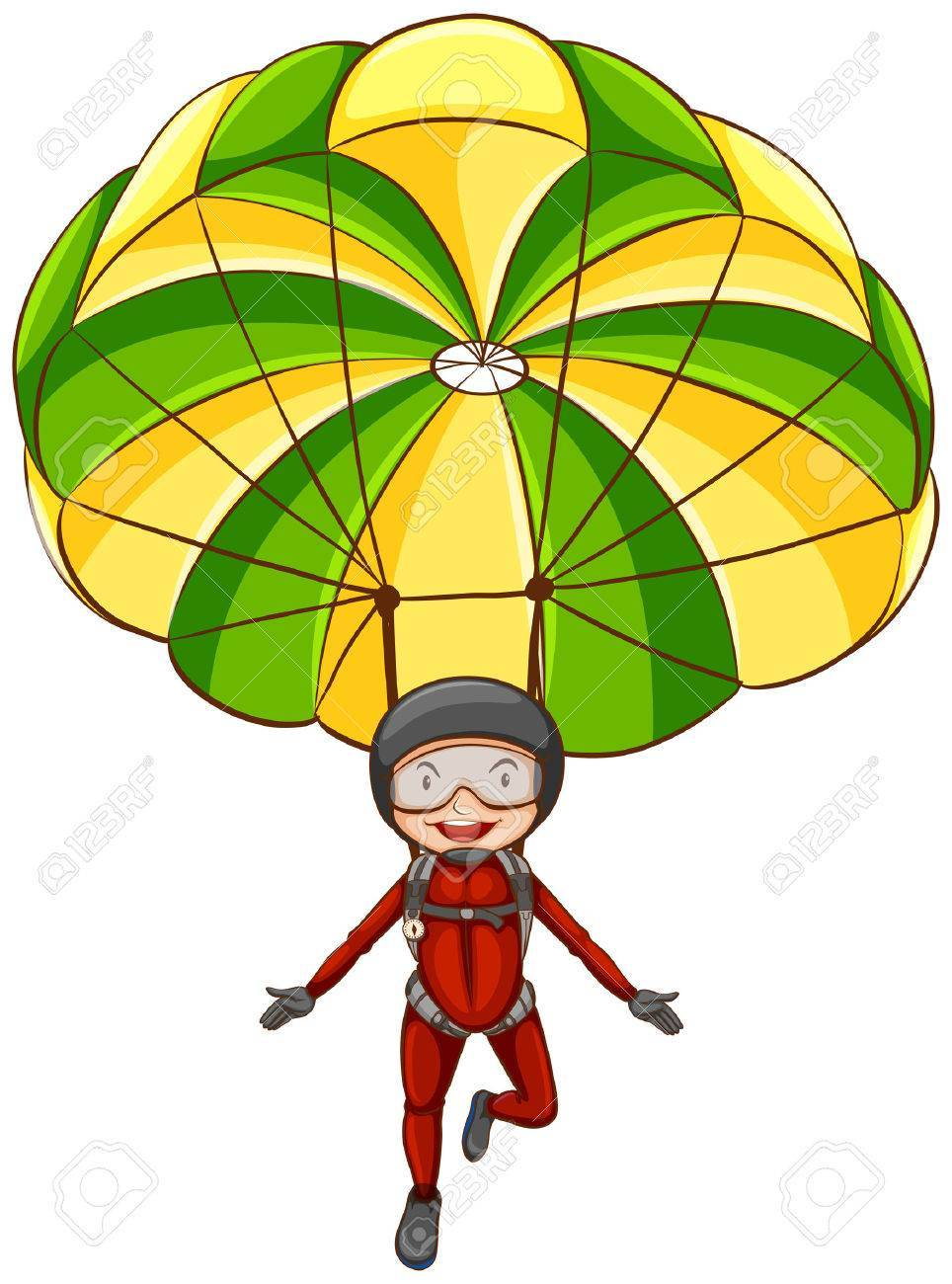 Parachute clipart hd transparent library Free parachute clipart 4 » Clipart Portal transparent library