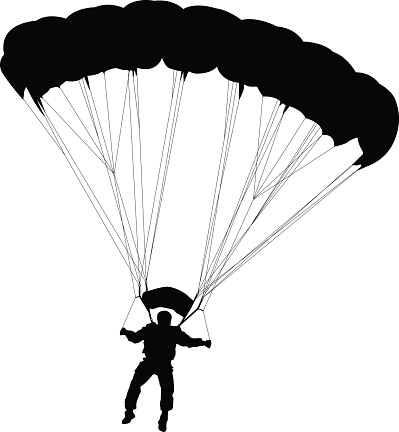Parachuter clipart