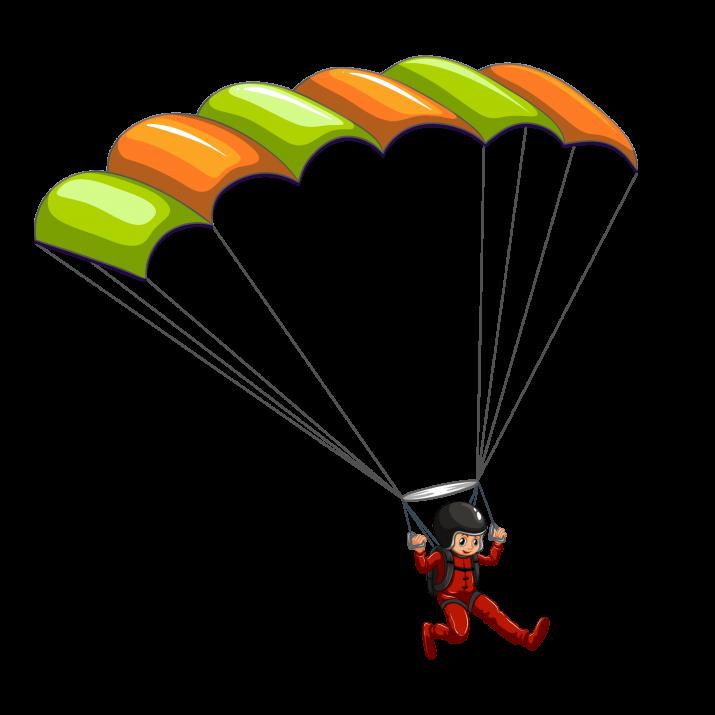 Parachute clipart hd picture transparent stock Skydive ClipArt PNG | HD Skydive ClipArt PNG Image Free Download picture transparent stock