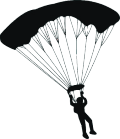 Parachute images clipart svg library download Parachute Clipart transparent PNG - StickPNG svg library download
