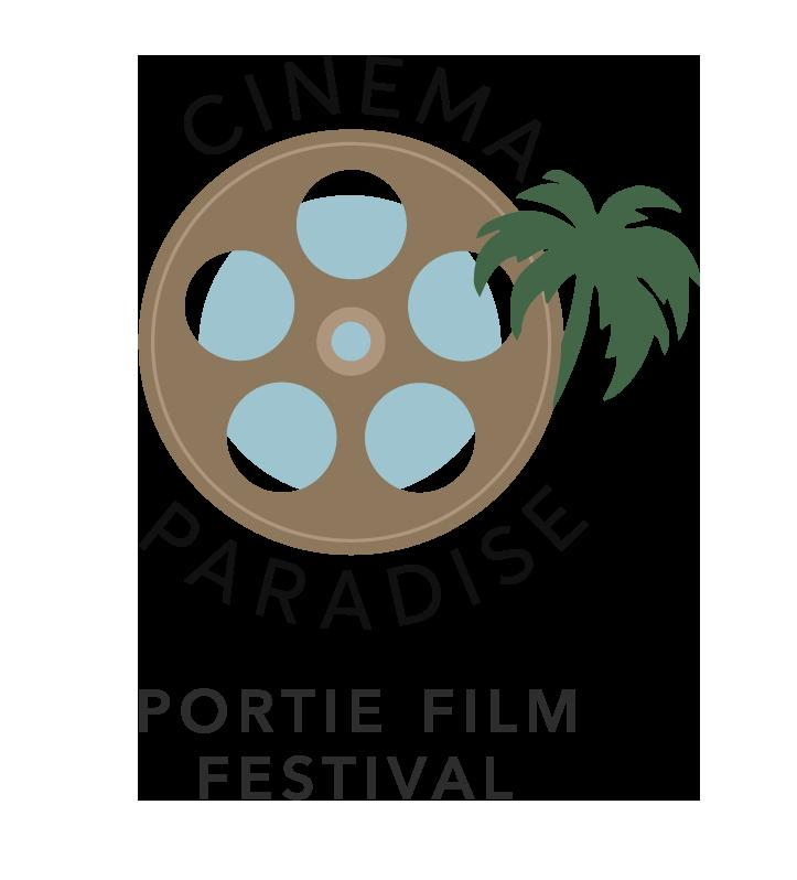 Paradise cinema clipart schedule image black and white Portie Film Festival – Cinema Paradise image black and white