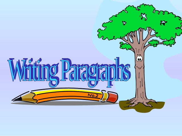 Paragraph writing clipart picture transparent library Writing paragraphs picture transparent library