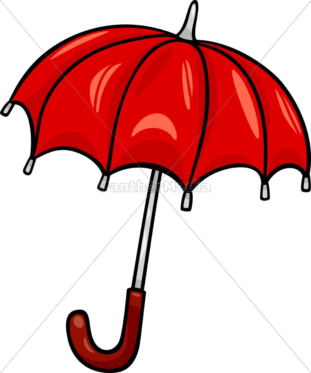 Paraguas clipart royalty free stock Stockphoto 9755946 - ilustración de dibujos animados de paraguas clip art royalty free stock