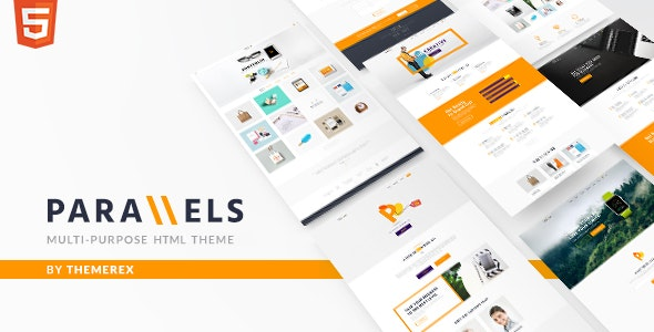 Parallels logo clipart clipart stock Parallels | Multipurpose Site Template by ThemeREX | ThemeForest clipart stock
