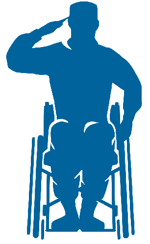 Paralyzed veterans of america clipart svg royalty free Paralyzed Veterans of America svg royalty free