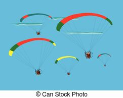 Paramotor clipart picture black and white download Para motor Illustrations and Stock Art. 12 Para motor ... picture black and white download