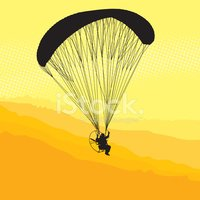 Paramotor clipart picture library download Paraglider and Paramotor stock vectors - Clipart.me picture library download