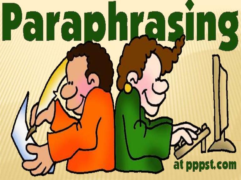 Paraphrase clipart vector free stock English 9 - Paraphrasing vector free stock