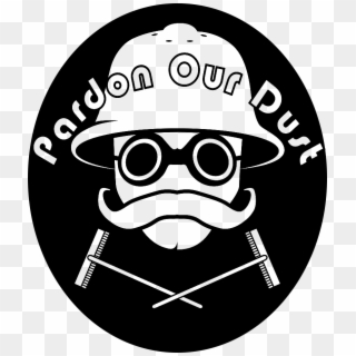 Pardon our dust clipart black and white transparent library Pardon Our Dust, HD Png Download (#3446947), Free Download ... transparent library