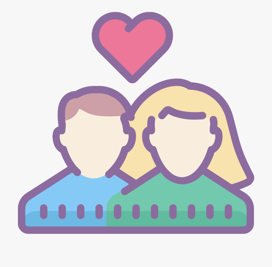 Pareja clipart image freeuse library Clipart Bed Man Woman - Pareja Iconos Png, Cliparts & Cartoons - Jing.fm image freeuse library