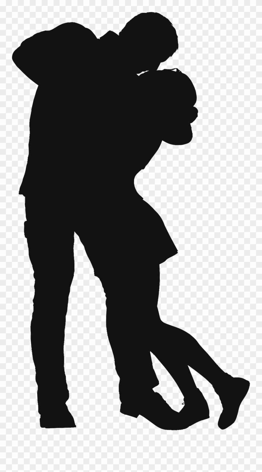 Pareja clipart jpg free stock Couple Silhouette Computer Icons Shadow Romance - Amor Romantico En ... jpg free stock