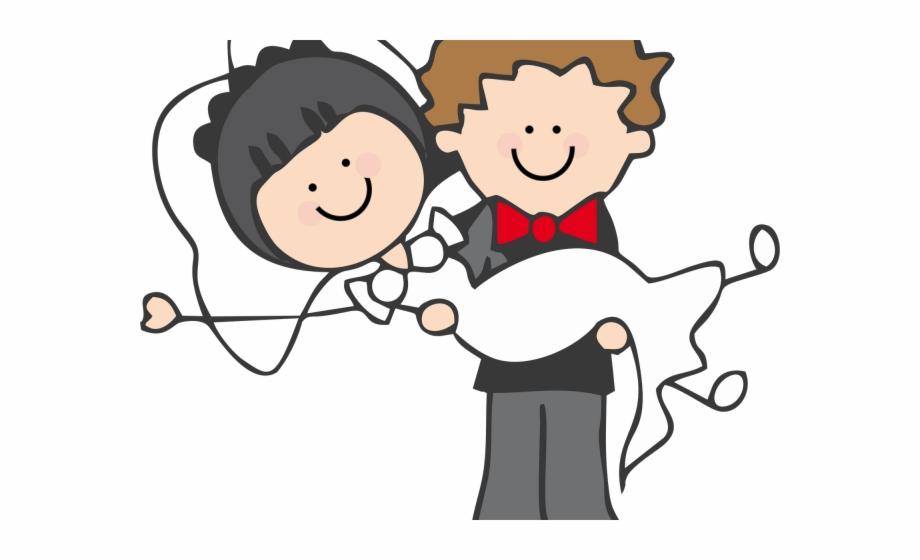 Pareja clipart vector transparent download Groom Clipart Country Bride - Pareja De Esposos Dibujo Png Free PNG ... vector transparent download