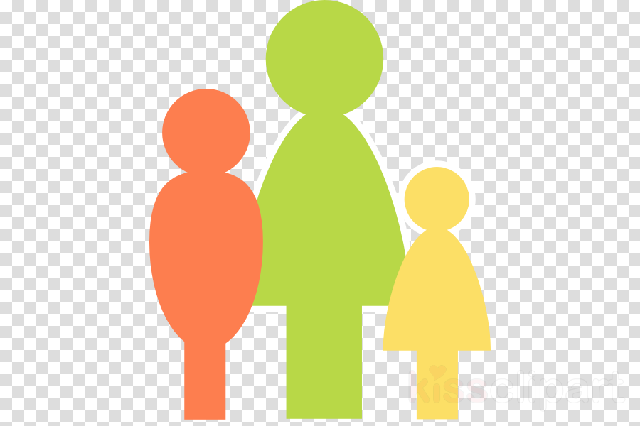 Paren clipart vector black and white stock Mother Cartoon clipart - Mother, Child, Yellow, transparent clip art vector black and white stock