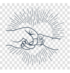 Parent and child fist bumping clipart download Father Gift Kids Vector Images (over 1,400) download
