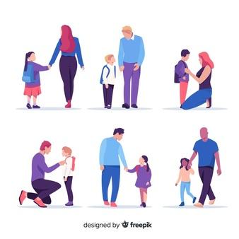 Parent child walking asian clipart car free clip art library download Parents Vectors, Photos and PSD files   Free Download clip art library download