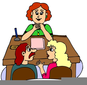 Parent teacher interview clipart image stock Parent Teacher Interview Clipart   Free Images at Clker.com - vector ... image stock