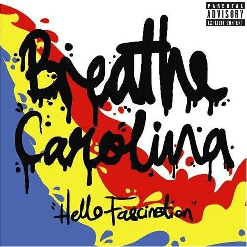 Parental advisory album cover clipart image black and white stock Hello Fascination (Parental Advisory) - Breathe Carolina ... image black and white stock
