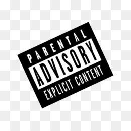 Parental advisory album cover clipart clip black and white Parental Advisory Logo png download - 766*766 - Free ... clip black and white