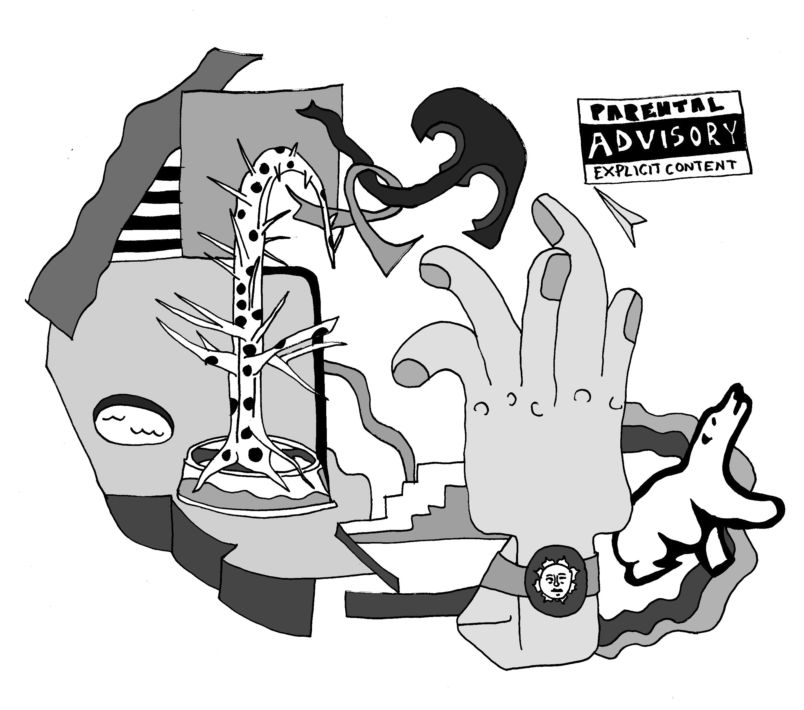 Parental advisory album cover clipart jpg transparent stock Four songs to celebrate the lasting legacy of Mac Miller ... jpg transparent stock