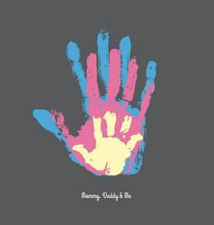 Parents butterfly clipart handprints vector vector royalty free download Handprint Kids Vector Images (over 380) vector royalty free download