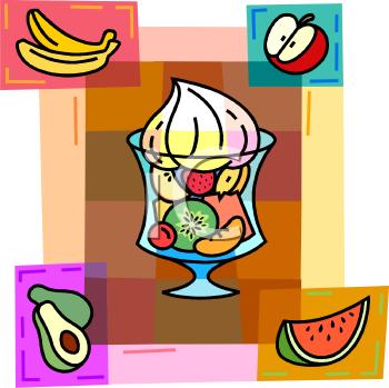 Parfait glass clipart clip transparent Clipart Image of Many Different Fruits in a Parfait Glass ... clip transparent