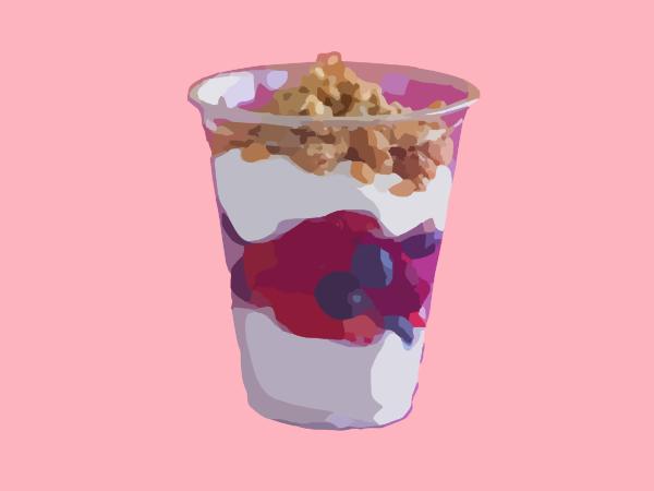 Parfait glass clipart clip art download Fruit And Yogurt Parfait Clip Art at Clker.com - vector clip art ... clip art download