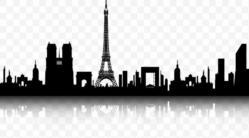 Paris black and white clipart svg download Paris Display Resolution, PNG, 821x457px, Paris, Black And White ... svg download