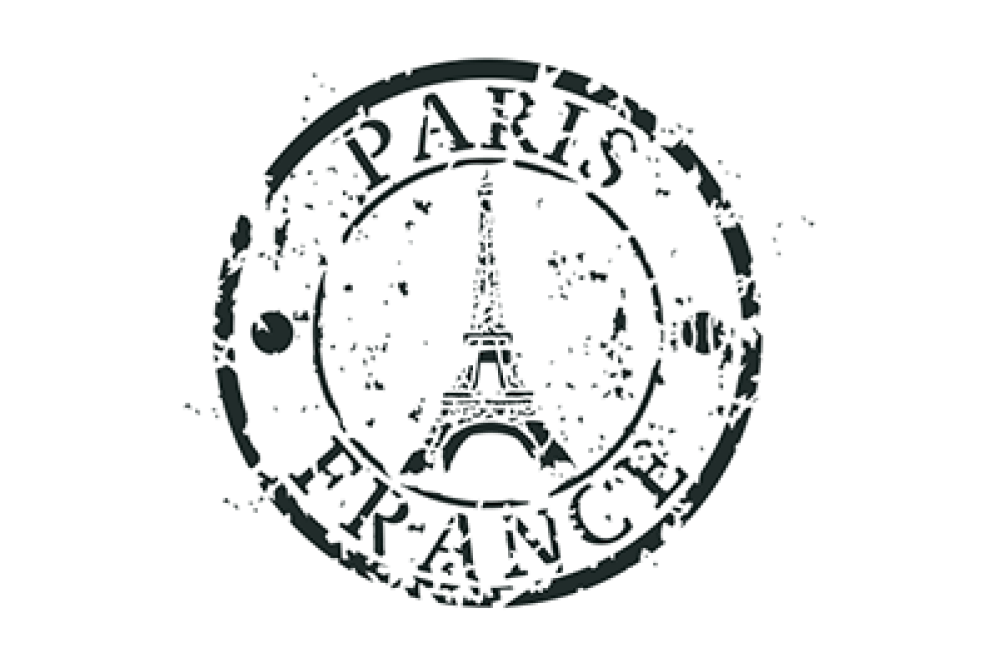 Paris stamp clipart png library Paris France Stamp Stencil | French flare | Paris clipart, Stencils ... png library