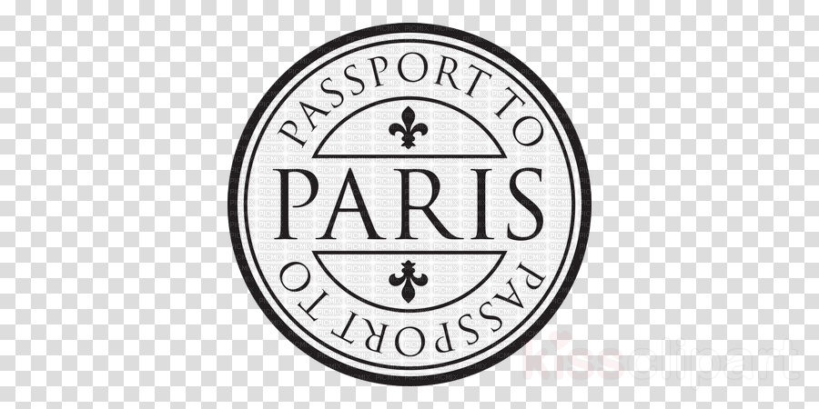 Paris stamp clipart clipart freeuse Font, Furniture, Design, Label, Circle png clipart free download clipart freeuse