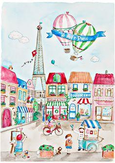 Paris street clipart banner stock 164 Best Illustrations ~ Take me to Paris images in 2019 | Paris ... banner stock