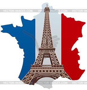 Paris vector clipart png royalty free Paris eiffel tower - royalty-free vector clipart png royalty free