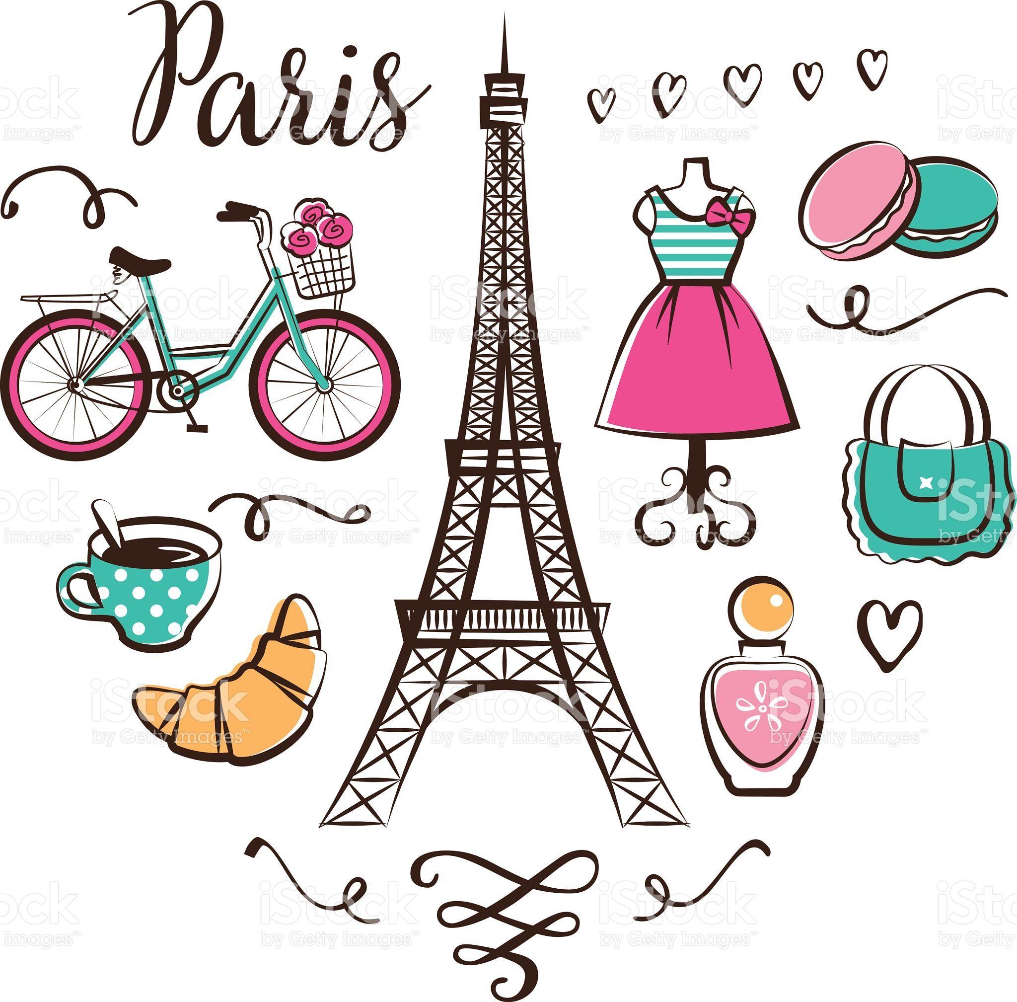 Parisian clipart free graphic download Love for Paris. | PRINTABLES | Paris clipart, Paris ... graphic download