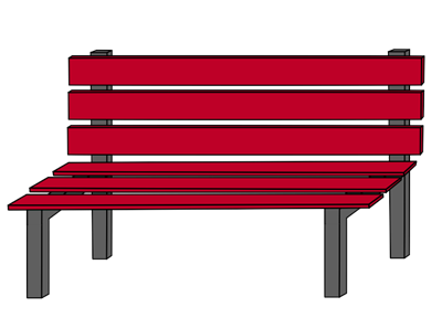 Park bench from behind clipart graphic transparent library Free Bench Cliparts, Download Free Clip Art, Free Clip Art ... graphic transparent library