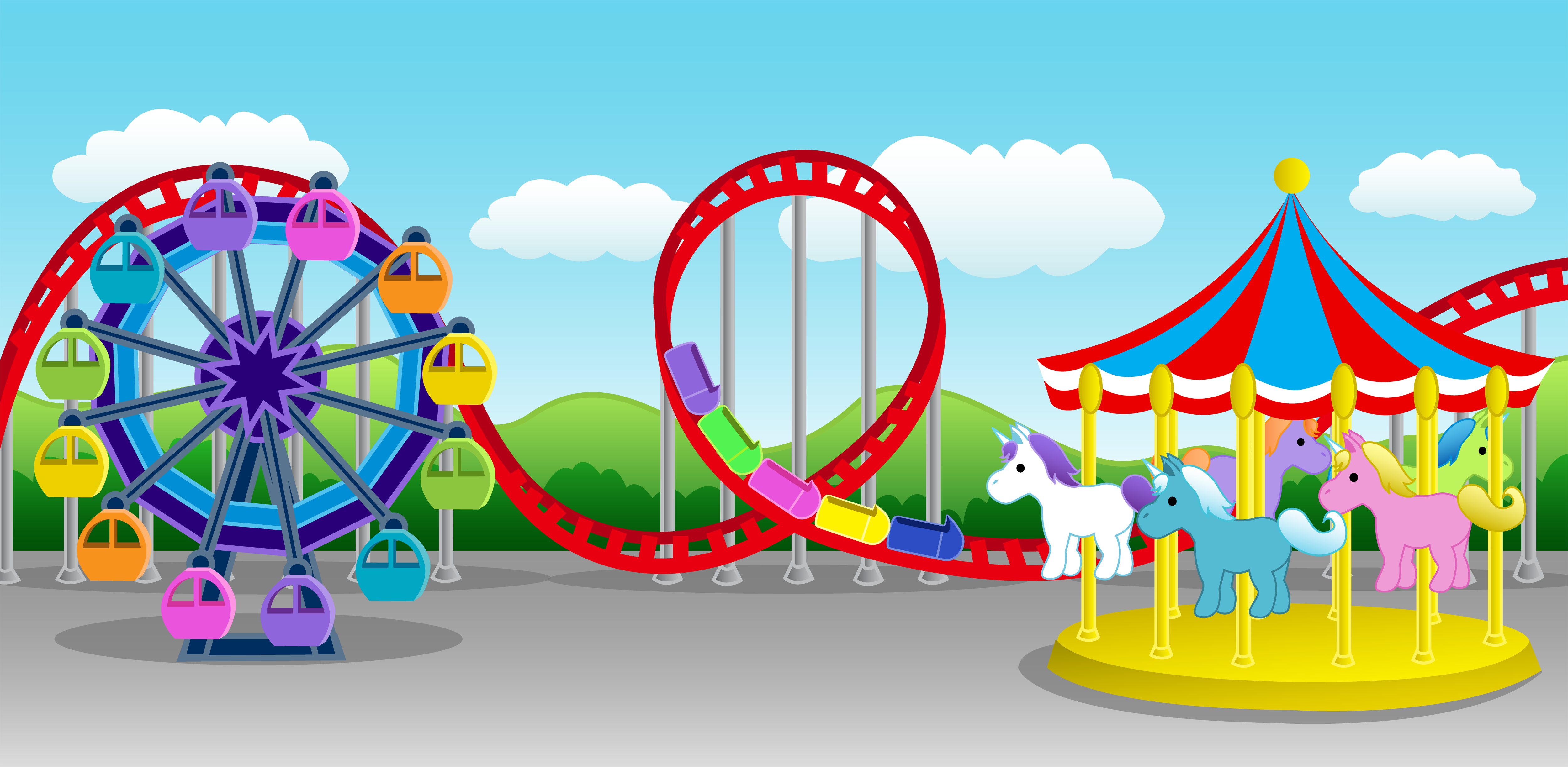 Park clipart png royalty free stock Amusement Park Clipart & Amusement Park Clip Art Images ... png royalty free stock