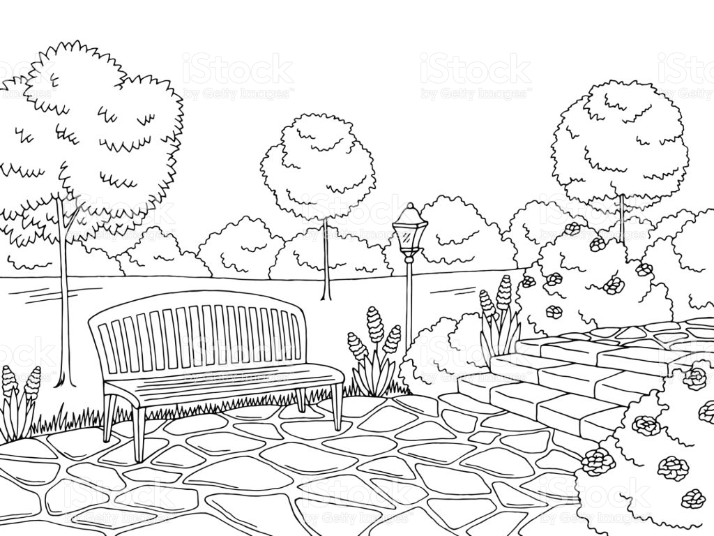 Park clipart black and white graphic free library Park clipart black and white 4 » Clipart Station graphic free library