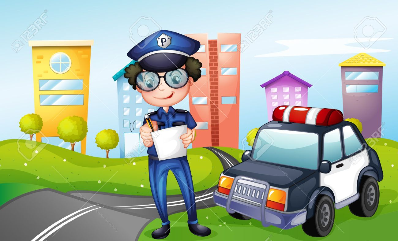 Park police clipart car black and white download Park police clipart car - ClipartFest black and white download