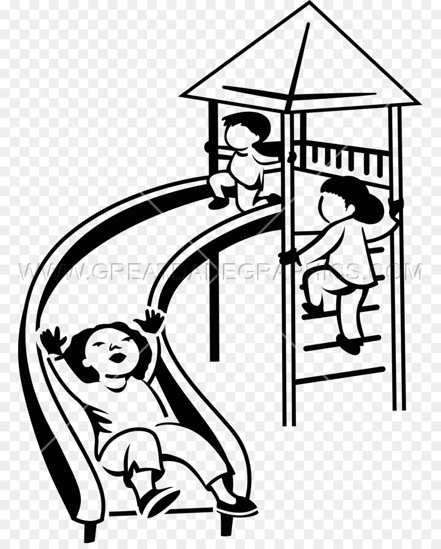Park swings clipart black white transparent background svg royalty free library Playground Cartoon png download - 825*1108 - Free Transparent ... svg royalty free library