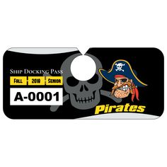 Parking pass clipart clipart free All American Oval School Hang Tag Parking Permit | School ... clipart free