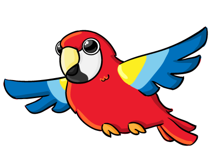 Parrot flying clipart picture royalty free download Free Parrot Cliparts, Download Free Clip Art, Free Clip Art ... picture royalty free download