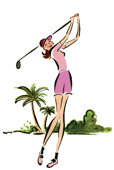 Pars clipart picture royalty free stock Golf Author Christina Ricci wants you to get more pars on ... picture royalty free stock
