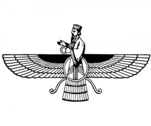 Parsi new year clipart png black and white download the faravahar (or, the farohar), is the central icon of ... png black and white download