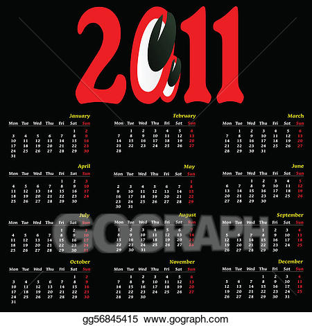 Part one clipart graphic free library Vector Art - Calendar big with eye part one. EPS clipart ... graphic free library