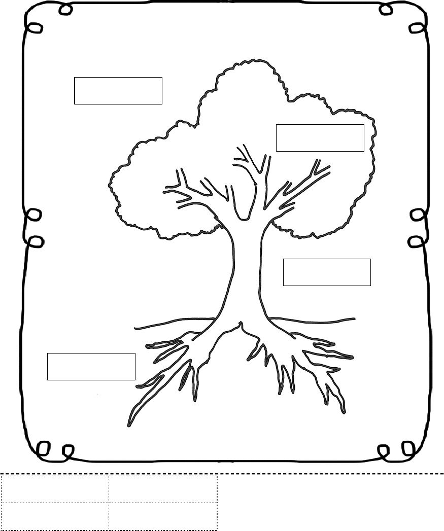 Parts of a tree clipart black and white clipart freeuse library Parts of a Tree Worksheet | Trees School Theme | Worksheets ... clipart freeuse library