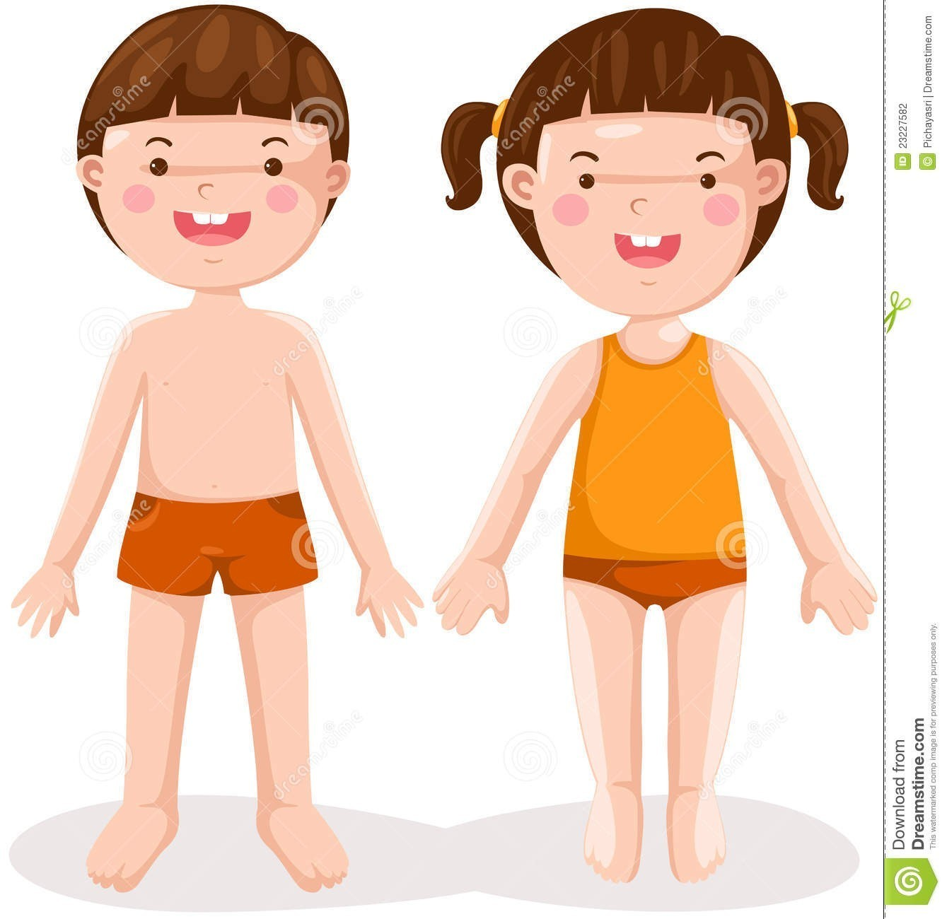Parts of the body clipart picture library stock At Clip Art Body Boy Rear Clipart Child Pencil And In Color ... picture library stock