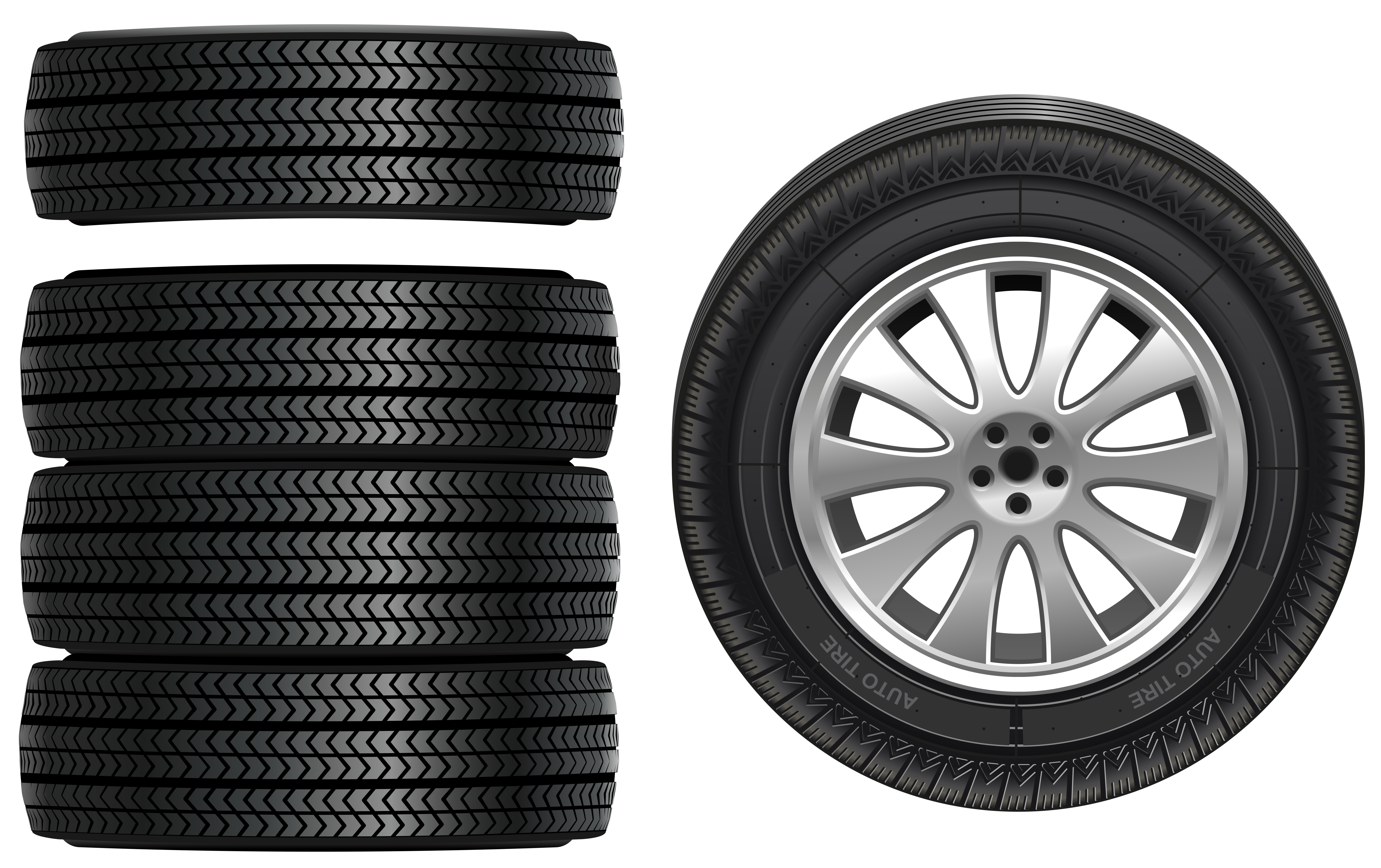 Parts of the sun clipart graphic black and white stock Tires PNG Clip Art - Best WEB Clipart graphic black and white stock