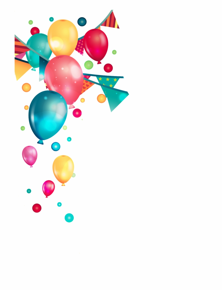 Party background clipart png freeuse Birthday Party Balloons Png - Transparent Background Party ... png freeuse