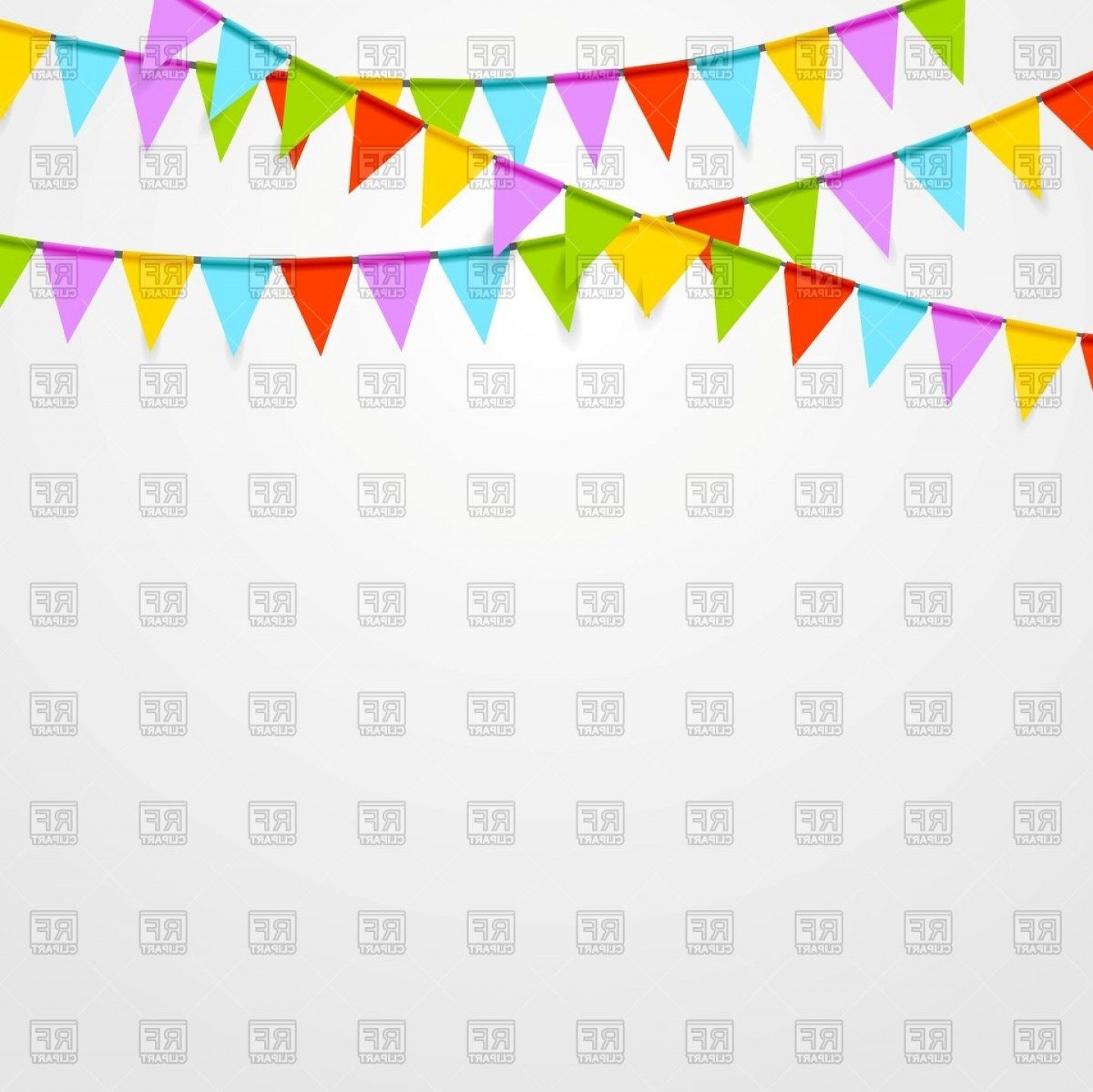 Party background clipart image free stock Party Flags Background Vector Clipart | SOIDERGI image free stock